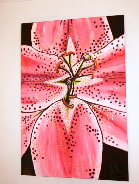 Stargazer Acrylic on Canvas 20x30 €200
