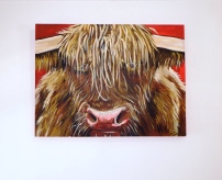 Highland Red Acrylic on Canvas 40x30 €400 SOLD