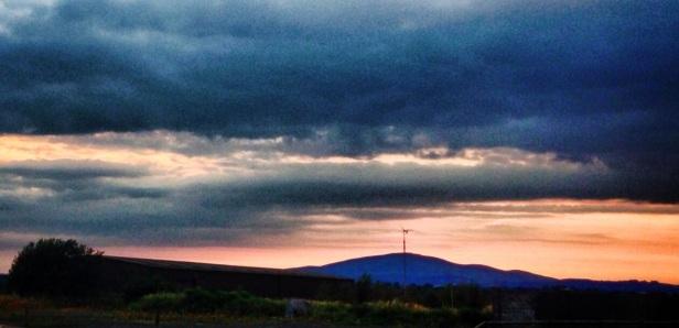 Slievenamon view from cashel road clonmel