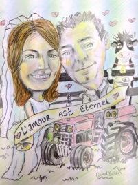 Love is Eternal Wedding Guest Board