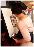 Wedding Guest Board Signing
