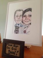 Wedding Guest Board.. Please sign..