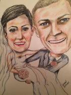 First wedding anniversary present