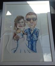 Wedding anniversary present- excuse the bad photo