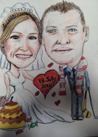 Lisa wedding guest board detail