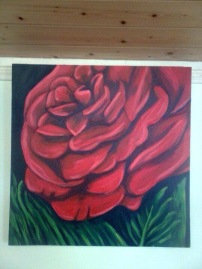 Full Bloom 16x16 Acrylic on Canvas SOLD