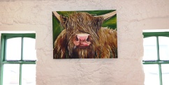 Highland Green, Acylic on Canvas 40x40 SOLD