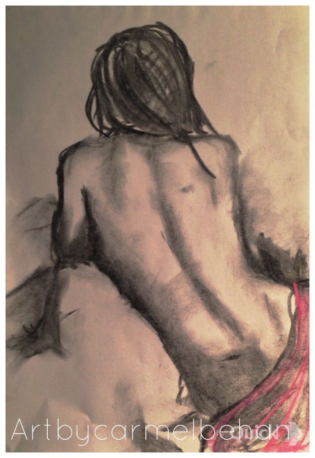 Charcoal and Pastel