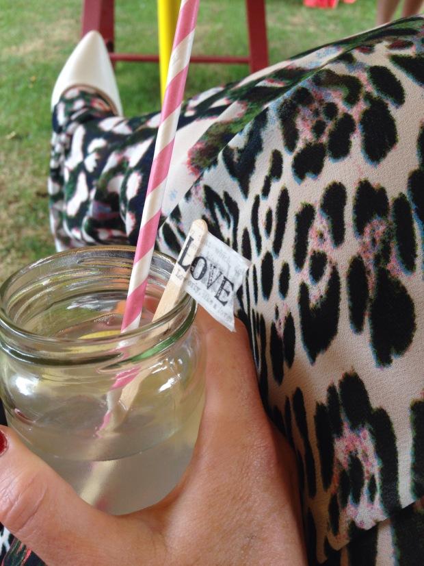 Enjoying Lemonade :)