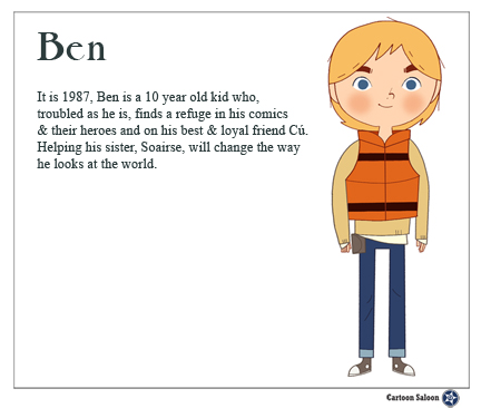 Ben Character- Thanks to Cartoon Saloon